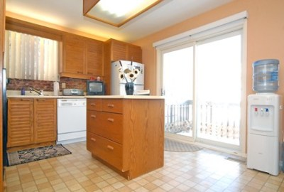 the kitchen before renos
