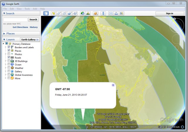 Utm zones in google earth tmackinnon time zones in google earth sciox Images