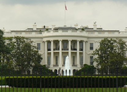 back of the White House - 1600 Pennsylvania Avenue Washington, DC