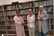 في اليوم الافتتاحي لجناح محمد العمراني المدراعي بمكتبة دار الثقافة بالقصر الكبير ( صور )
