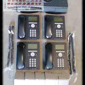 Avaya IP Office 500 V2 Phone system with 4 Avaya 9620L VoIP Phones