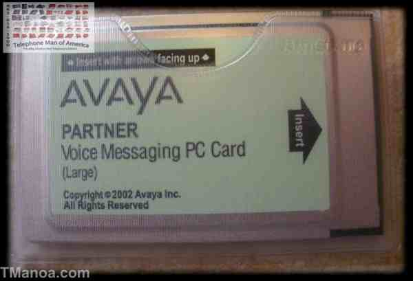Avaya Partner Voice Messaging PC Card Large R3