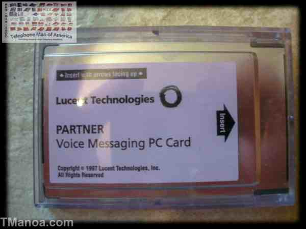Avaya Partner Voice Messaging PC Card Small R2