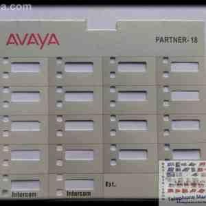 Avaya Partner 18 Series 1 Paper Insert