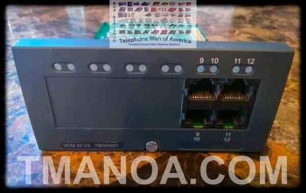 Avaya IP Office 500 V2 VCM 32 Base Card 700504031