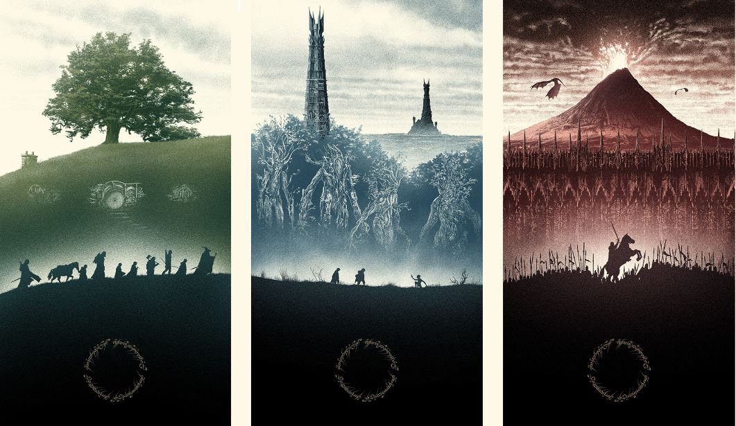 Lord of the Rings Trilogy Art