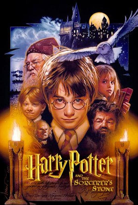 Harry Potter 1 movie poster