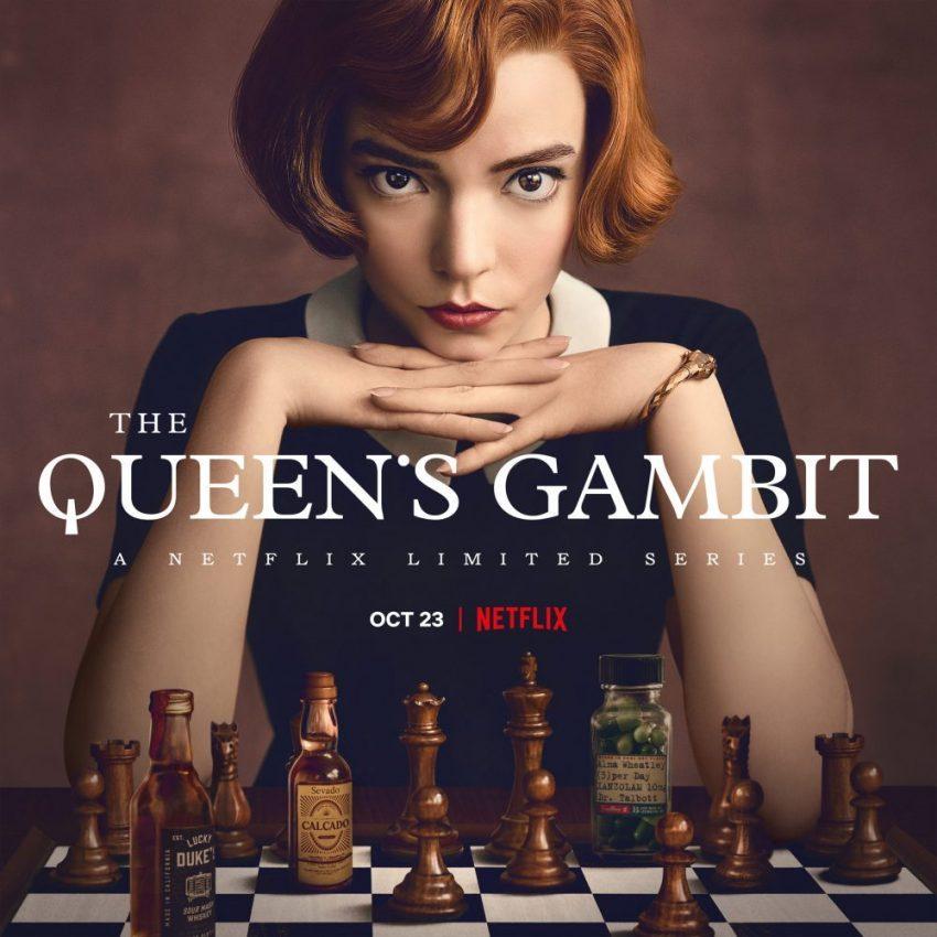 The Queen's Gambit TV series poster