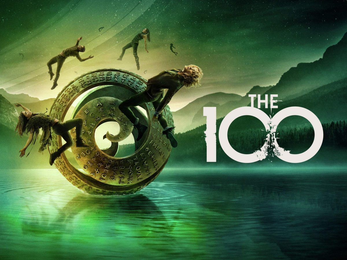 The 100 TV poster
