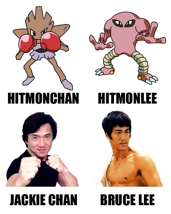 Hitmonchan and Hitmonlee