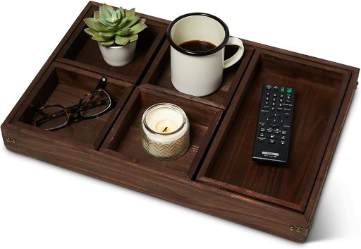 10 Useful Amazon Products: Ottoman Serving Trays