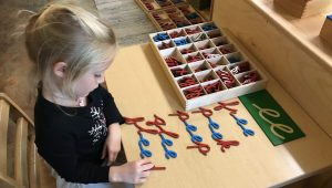 Early Childhood Moveable Alphabet, Montessori Private School, Arlington TX