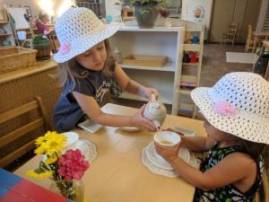 Early Childhood Grace & Courtesy, Montessori Private School, Arlington TX