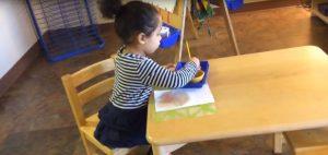 Toddler-Find Motor Development, Montessori Private School, Arlington TX
