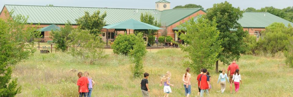 View from the Wildscape, The Montessori Academy of Arlington, Private School Arlington TX