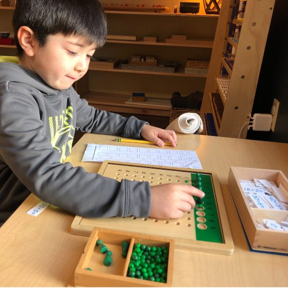 Early Childhood Division Bead Board