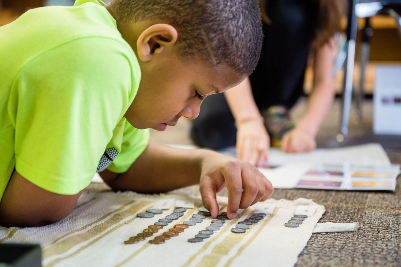 Lower Elementary Math: Making Change