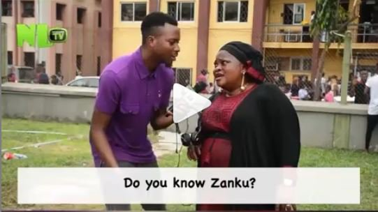 """LMAO!! See What Popular Actress """"Madam No Network"""" Did To One Of Our Presenter On NLTV (Watch Video)"""
