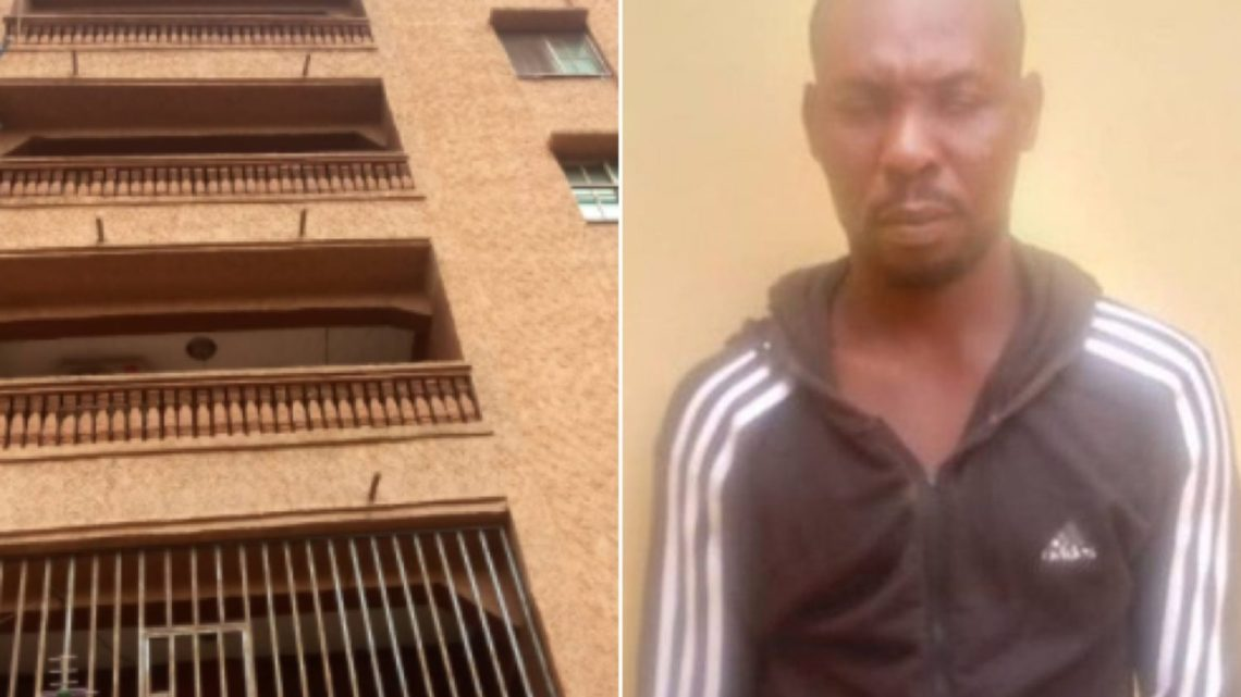 Man Arrested For Allegedly Pushing Girlfriend To Death From Five-Storey Building In Anambra (photos)