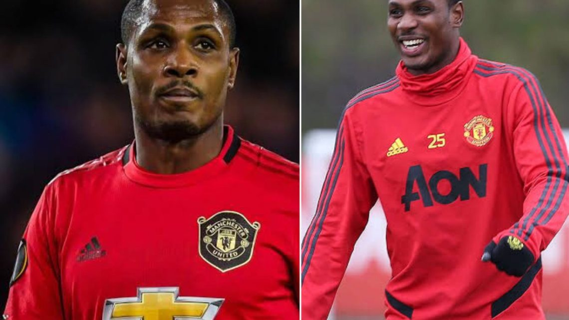 Odion Ighalo Announces Exit From Man United In Emotional Farewell Message