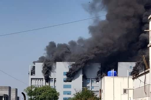 Huge Fire Breaks Out At World's Biggest COVID-19 Vaccine Facility In India (photos)