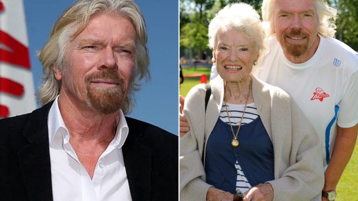 Virgin Group Founder, Richard Branson Loses 96-Year-Old Mother To COVID-19