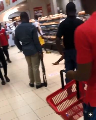 Young Man Queries SARS Officials After They Chased Him Inside Shoprite to Arrest Him (Video)
