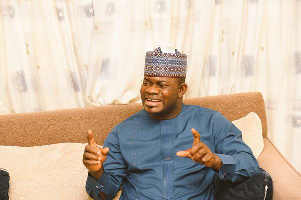 'God Forbid' – Yahaya Bello Rejects COVID-19 Vaccine, Alleges That It's Meant To Kill (Video)