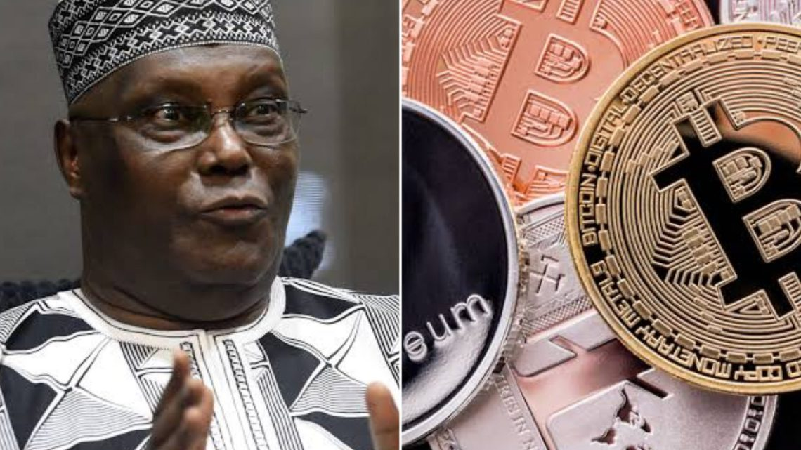 Atiku Condemns Shutdown Of Cryptocurrency Transactions, Calls For Reversal