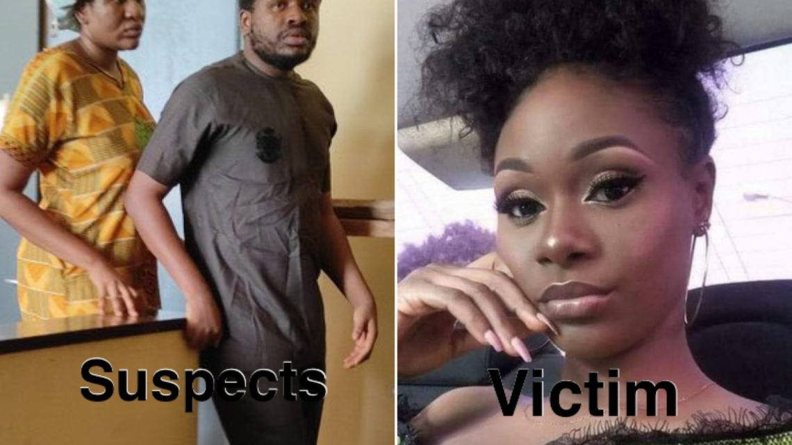#JusticeForIjeoma: Lady Allegedly Connives With Brother To Kill Makeup Artist For Having Affair With Her Boyfriend (Video)