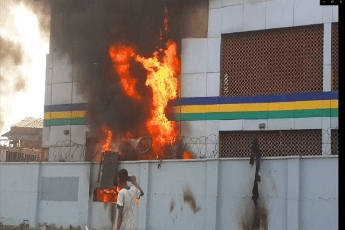 Gunmen Set Ablaze Another Police Station In Imo, Free Detained Suspects