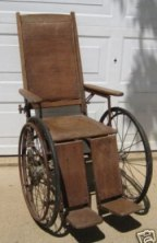 1940s wheelchair
