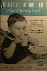 1940s Cookbook Boy