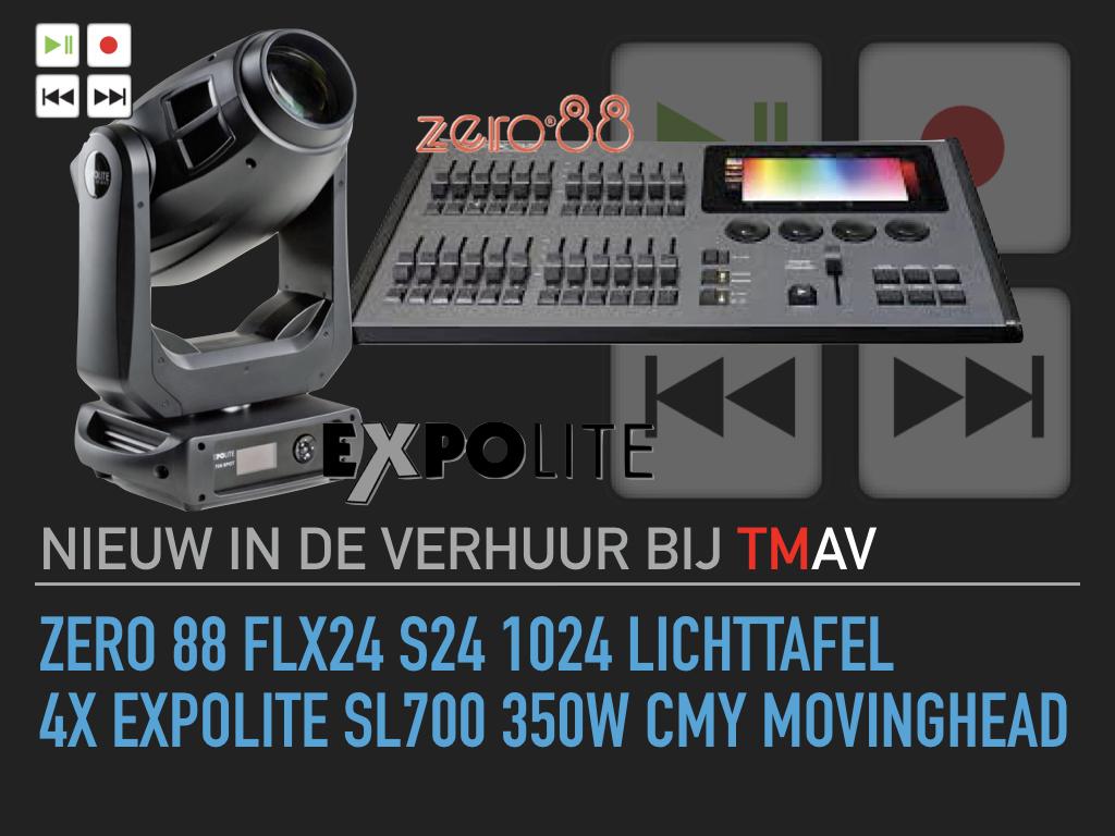 TMAV nieuw in de verhuur- Zero 88 en Expolite.001