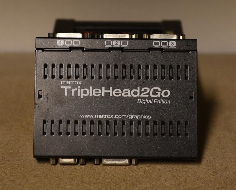 Matrox TrippleHead2Go DVI