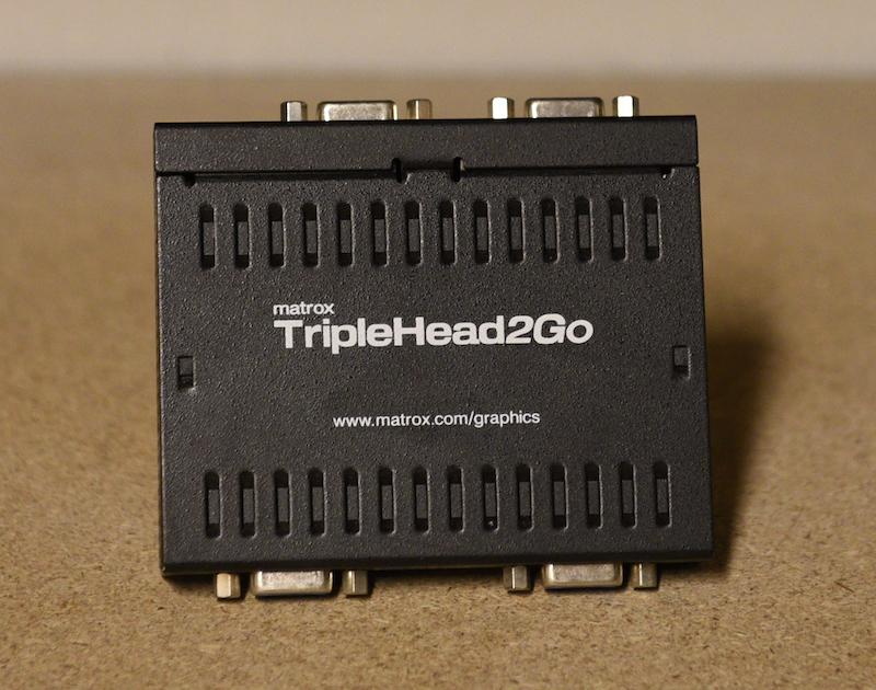 Matrox TrippleHead2Go VGA 3