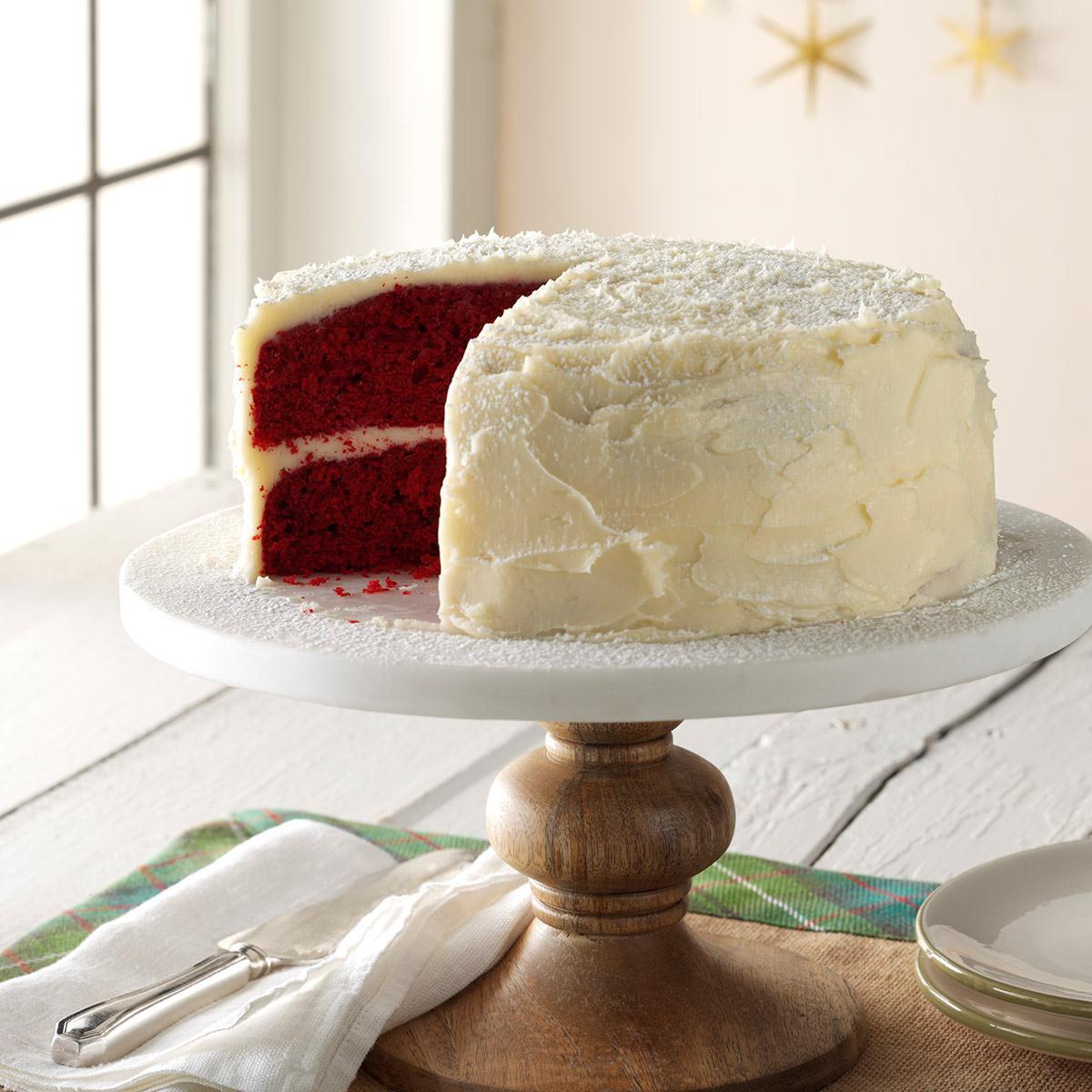 Grandma S Red Velvet Cake Recipe How To Make It Taste Of Home