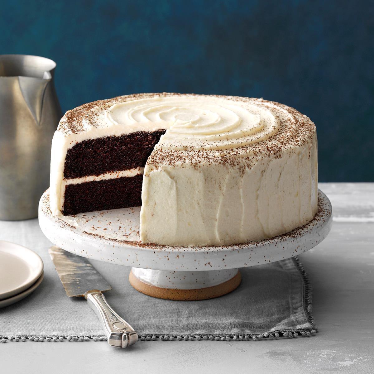 Moist Chocolate Cake Recipe How To Make It Taste Of Home