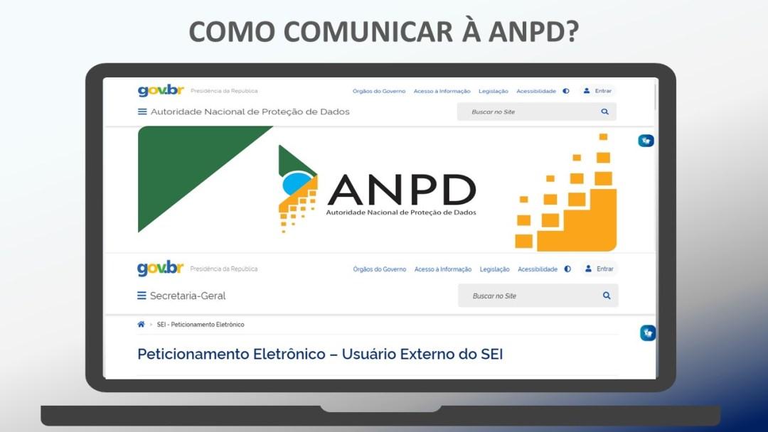 Como comunicar à ANPD?