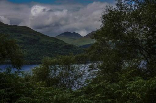 Beautiful views along Loch Lomond.