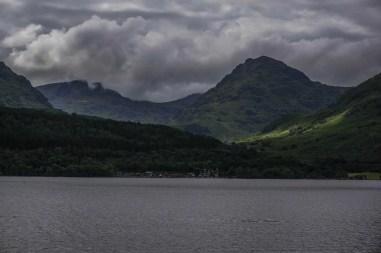 Looking out across Loch Lomond towards Inveruglas.