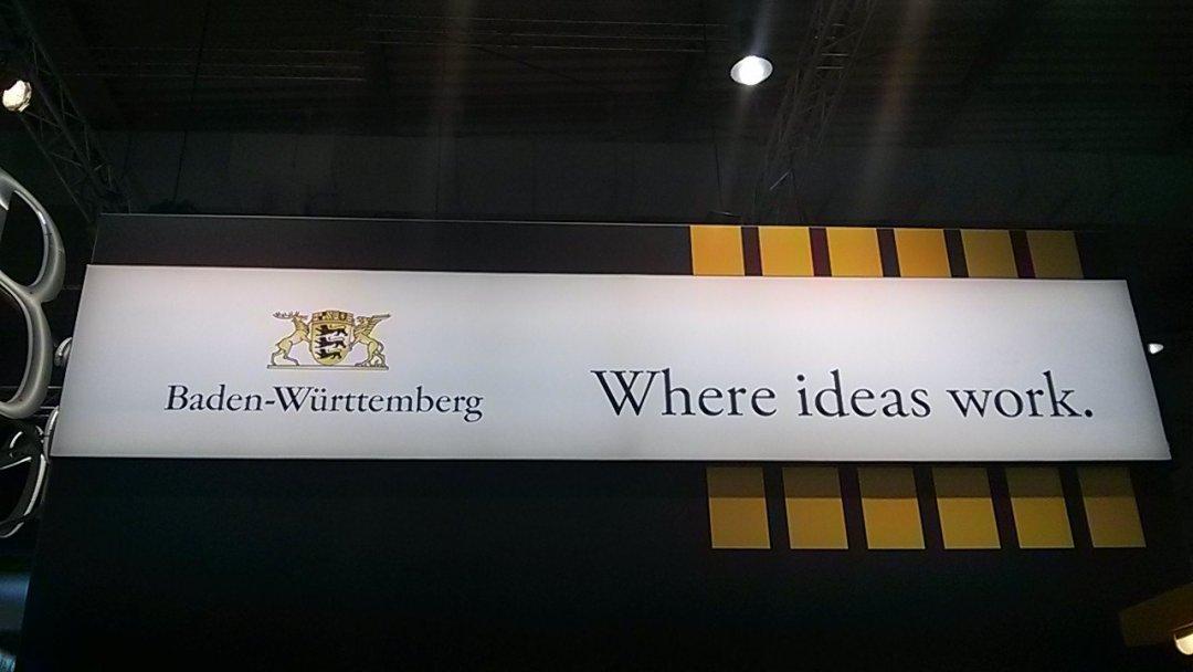 Baden Wuerttemberg Where ideas work - CEBIT 2018