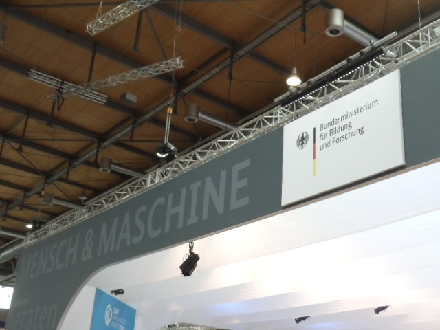 CEBIT 2018 Bundesministeriumg fuer Forschung Mensch und Maschine - CEBIT 2018
