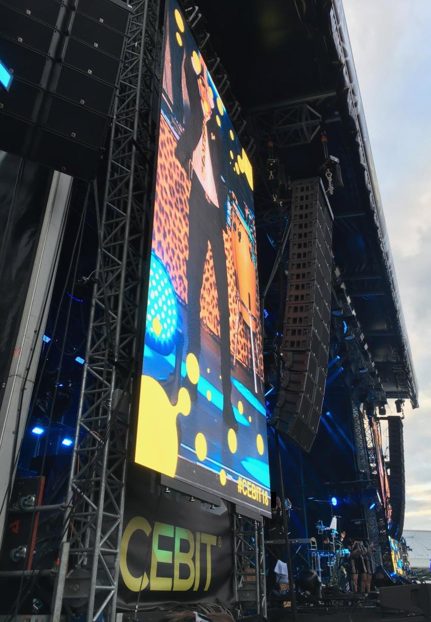 CEBIT 2018 Konzert Jan Delay - CEBIT 2018
