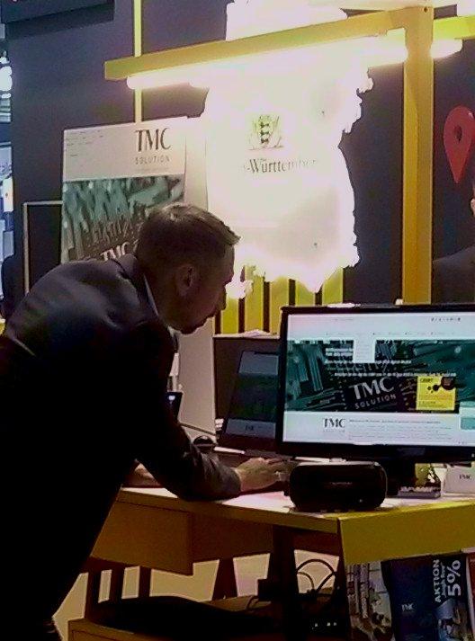 CEBIT 2018 MST am TMC SOLUTION Stand - CEBIT 2018