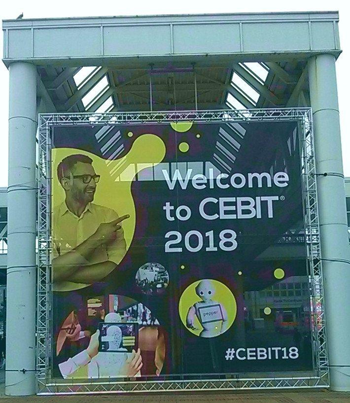 CEBIT 2018 Welcome to CEBIT 18 - CEBIT 2018