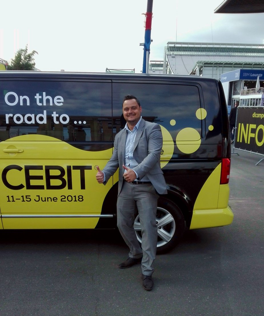 CEBIT 2018 on the road PC - CEBIT 2018