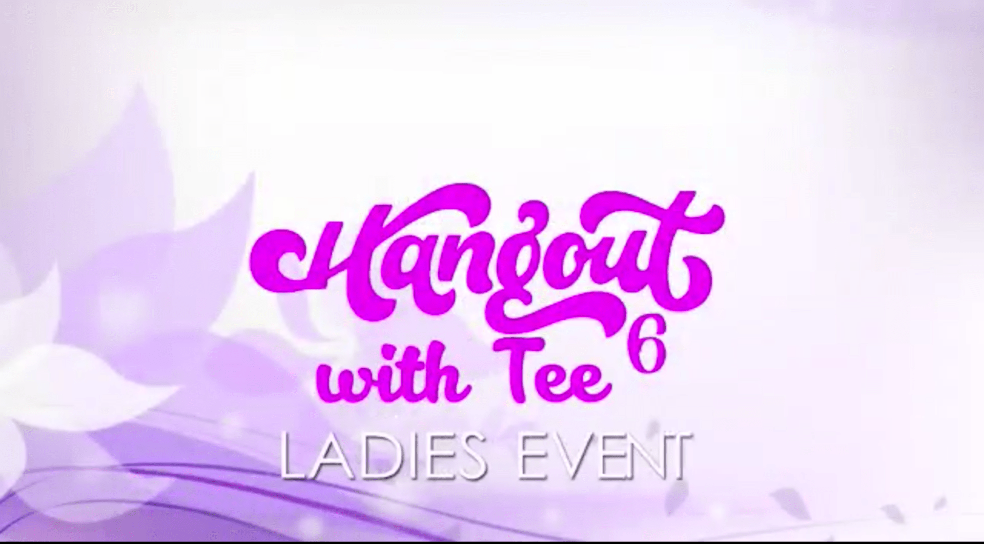 Hangout with Tee 6