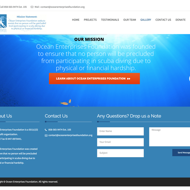 Ocean Enterprises Foundation