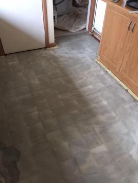 Quarry tile kitchen